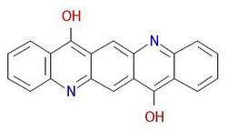 Pigment-fioletowy-19-Struktura molekularna